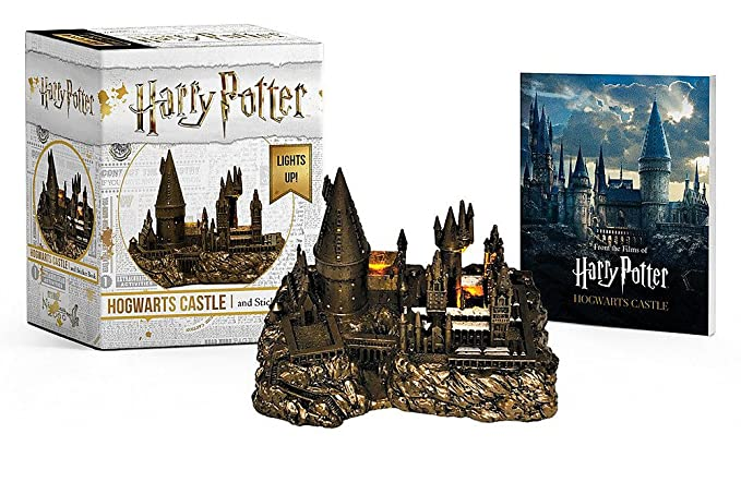 Harry Potter Hogwarts Castle And Sticker Book (Rp Minis)