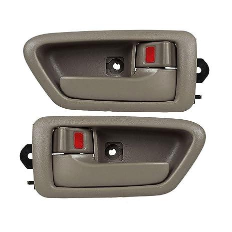 Amazon.com: AUTEX 91005/91004 Beige Interior Door Handle Front ...