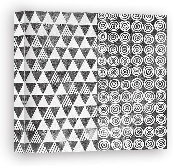 Impresión sobre Lienzo Wall Art Lovell Kathrine Maki Tile I BW: Amazon.es: Hogar