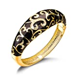 Amazon Price History for:Qianse Spring of Versaille Butterfly Handcrafted Bangle Bracelet With Austrian Crystals