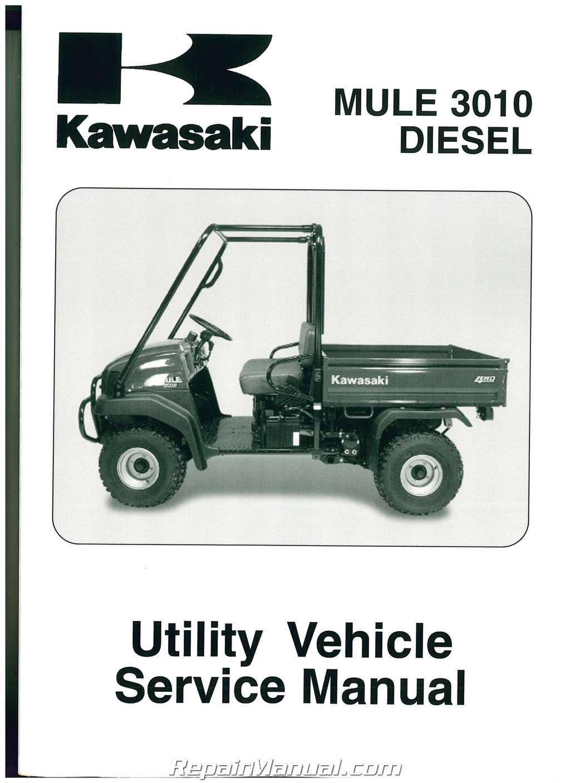 99924 1306 05 2003 2007 kawasaki kaf950 mule 3010 diesel side by rh amazon com 2003 kawasaki mule 3010 service manual kawasaki mule 3010 owners manual pdf