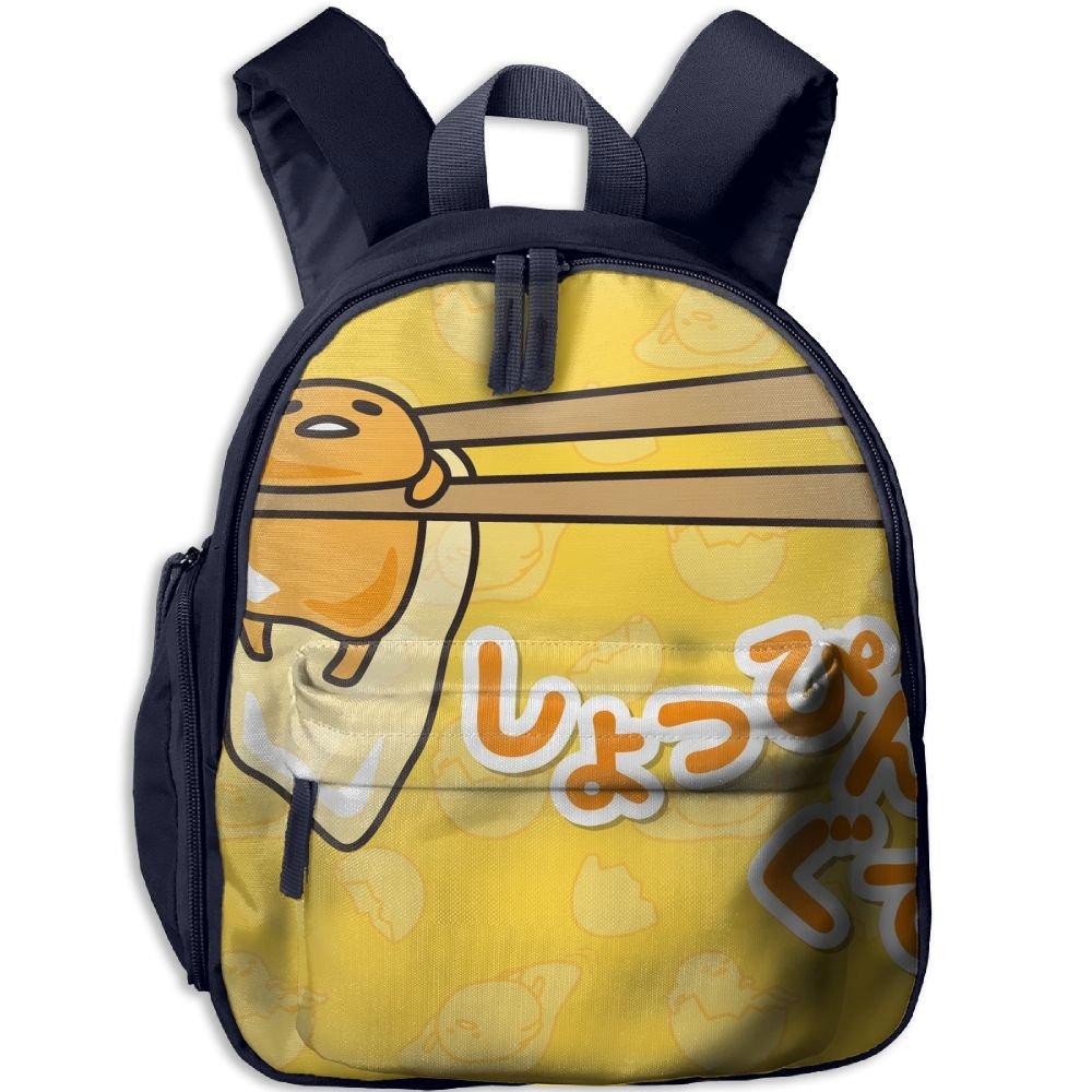 Gudetama Comfy School Bags,Custom Cute Children Shoulder Daypack,Print Backpack For Kids by CARBZZ