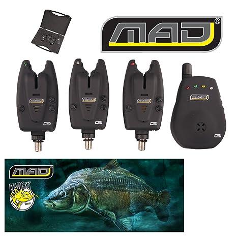 DAM MAD CSI Wireless Bite Alarma Set 3 + 1: Amazon.es ...