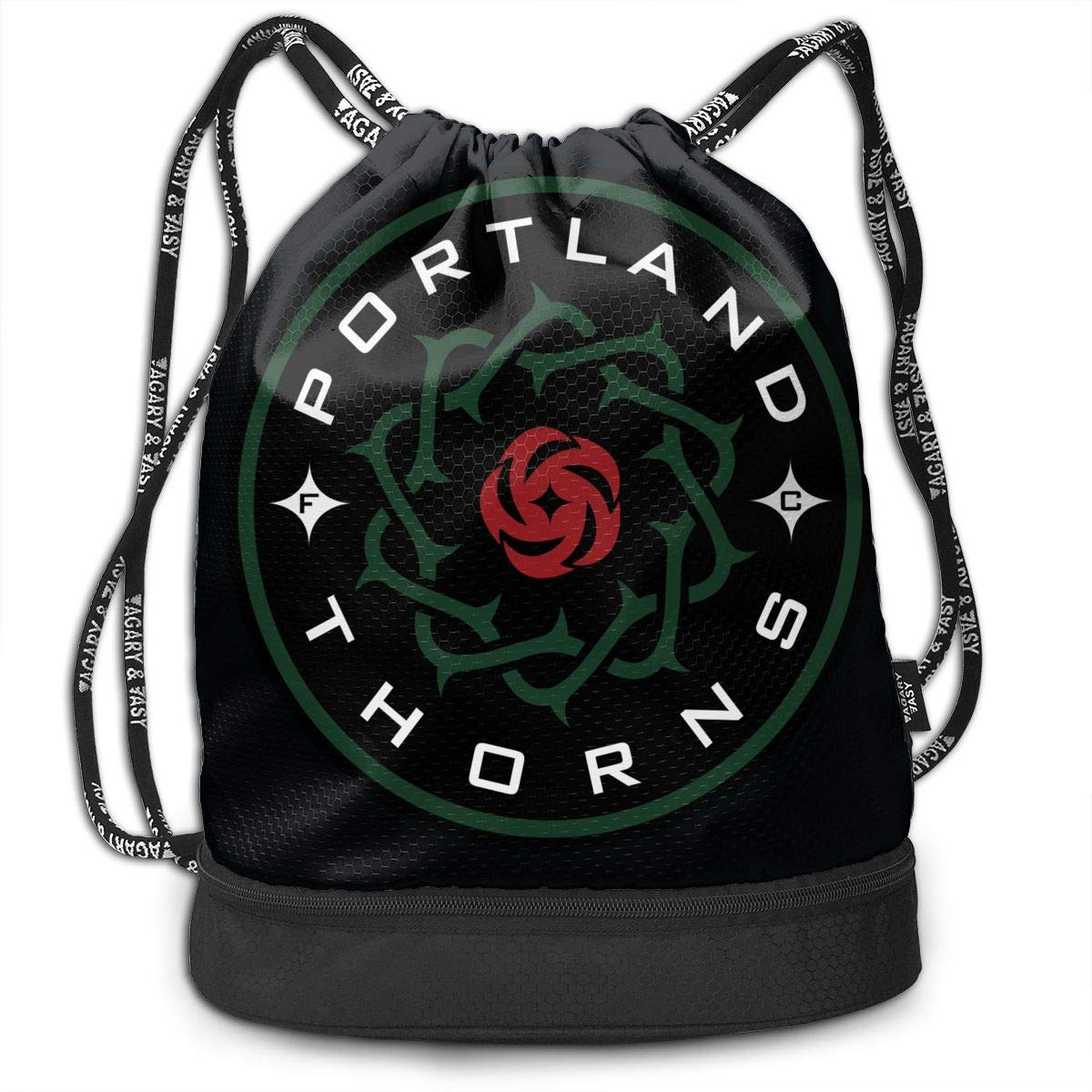 CUSARTSHOP Praise The Sun Funny Drawstring Bag Shoulder Rope Bag Storage Protable Backpack Stuff Sack Outdoor Bag Sport Draw Pocket Handbag