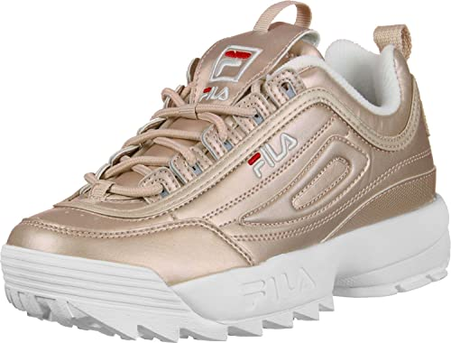 fila chaussure rose gold