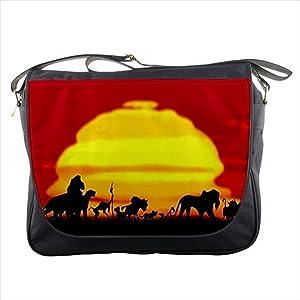 Lion King and Friends Silhouette Shoulder Messenger Bag School Bag