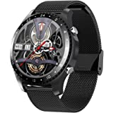 Smart Watch Make/Answer Call, Business Sport Smart Watch for Men Women, Health and Fitness Tracker with Sleep Monitor, Music