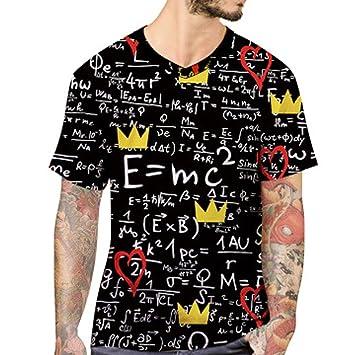 LuckyGirls Camisa Camisetas Originales Hombre Manga Cortos Verano Estampado de Fórmula Deportivas Blusa Moda Polos Casuales