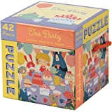 Mudpuppy Tea Party Cube Puzzle