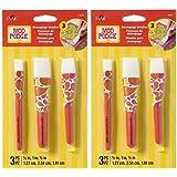 Mod Podge 10615 3 Piece Short Handle Brush Set - 2 Pack