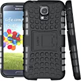 Galaxy S5 Case,S5 Case,LANOU (Stand Series) Dual Layer Hybrid Heavy Duty Shell Anti-skid Shockproof Protective Cover With Kickstand for Samsung Galaxy S5/ SV/ I9600