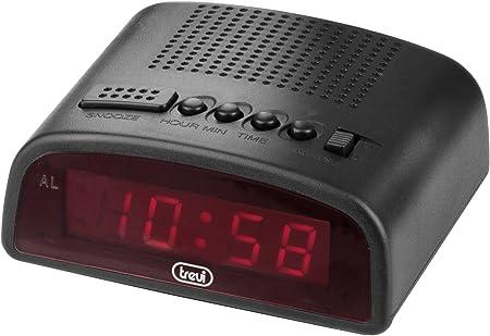 Trevi 875 – Reloj despertador digital compacto con enchufe para ...