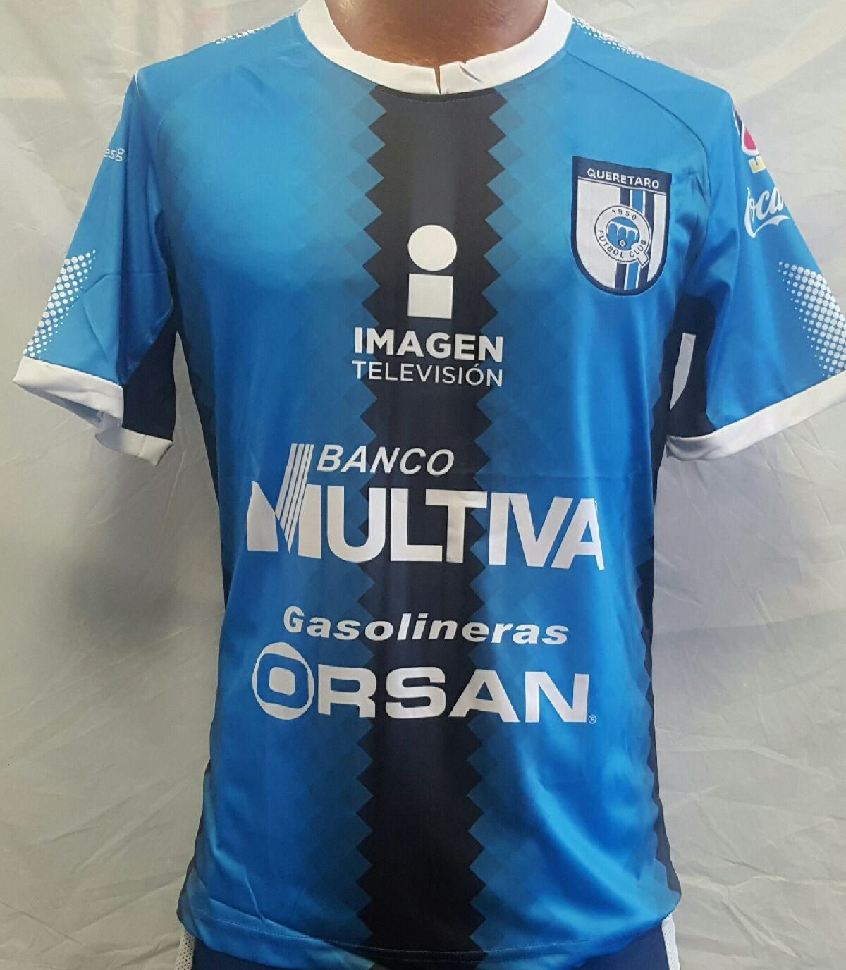 新しい。Club Deportivo Queretaro FC GallosホームGenericaジャージサイズS B07B2CFS1Q