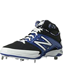 New Balance Mens M4040 Metal Mid Baseball Shoe