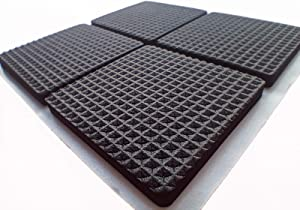 Furniture Pads Thickening Chair Leg Pads, Anti-Slip Furniture Pads for Hardwood Floors, Non Slip Furniture Pads, 4mm Thick EVA Foam Chair Pads,(16pcs)