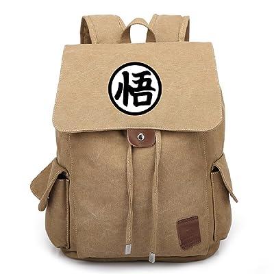 Siawasey Japanese Anime Dragon Ball Z Cosplay Backpack Daypack Bookbag Shoulder Bag School Bag delicate
