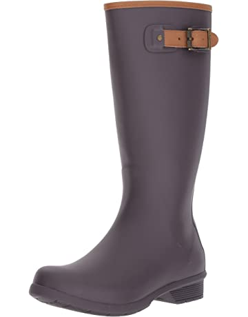 6f4305b5b Chooka Women's Tall Memory Foam Rain Boot