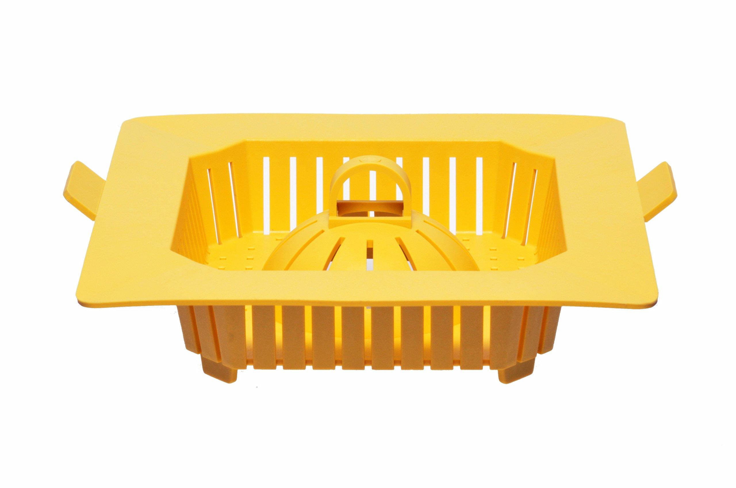 10 3/4 Inch PermaDrain Safety Strainer Basket. Fits 12 Inch Floor Sinks. For Zurn, Oatey, Wade, Josam, Smith, and Other Floor Sink Brands.