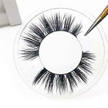 849e8b3a0d7 Amazon.com : 1Pair Luxury 3D False Lashes Fluffy Strip Eyelashes Long  Natural Party : Beauty