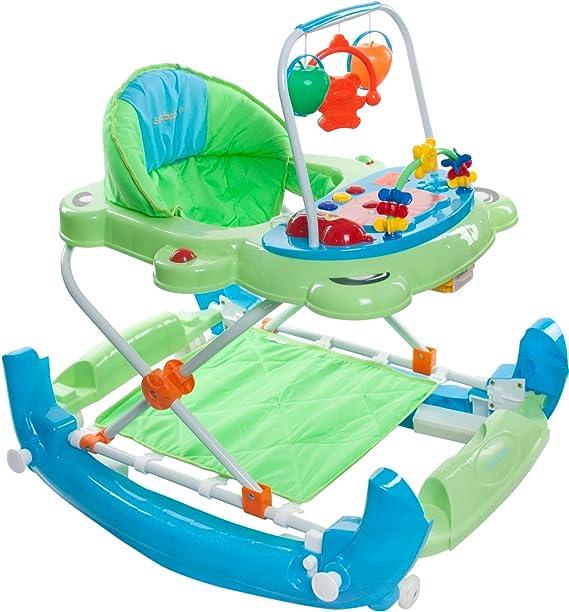 Sun Baby Super Lux - Andador para bebé, color verde/azul: Amazon ...