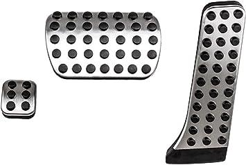 Edelstahl Pedal Automatik Pedale Pedalset Pedalkappen Fußstütze Für C Klasse W204 S204 C204 E Klasse W212 S212s Klasse W222 Glk X204 Slk R172 Cls W218 Sl R231 Auto
