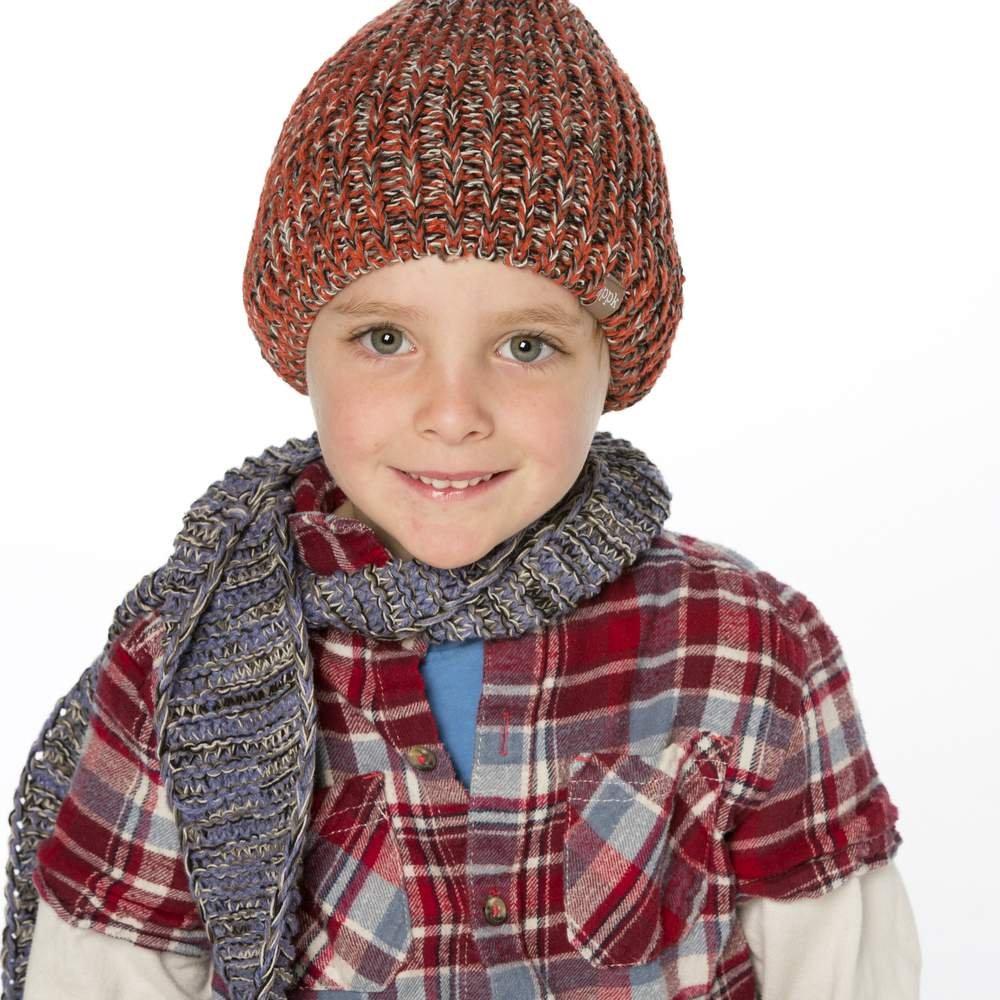 1-4YR SM Peppercorn Kids Little Boys Stretchy Rib Beanie Green