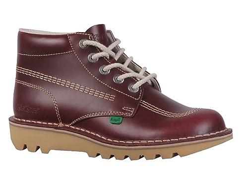 ec6ff0db3dde7 Kickers Botas Para Hombre Rojo Granate  Amazon.es  Zapatos y complementos