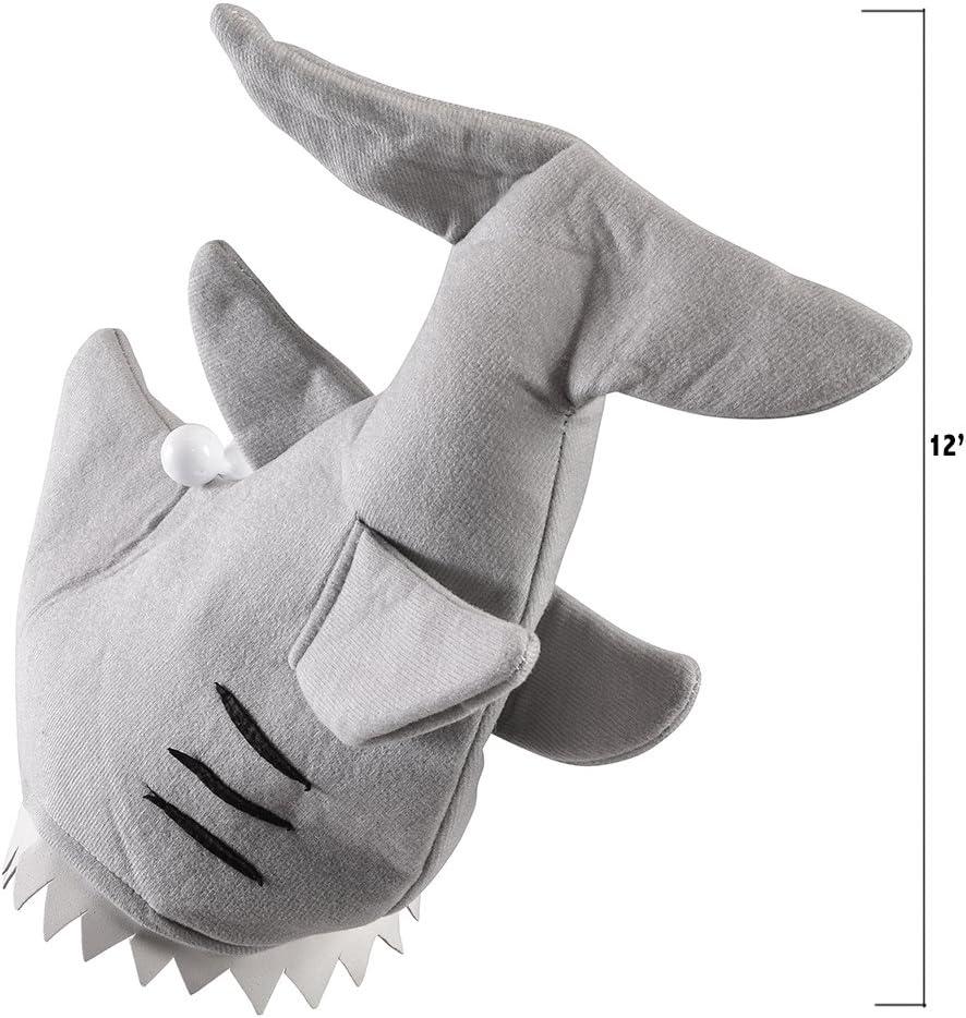 Fun Shark Hat with Teeth and Eyes Fun Shark Hat