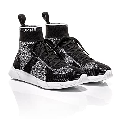 23a812c352ea Dior Homme Black and White Technical Knit B21 Sneaker (40 EU ...