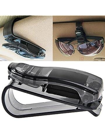 e1e16f8492 Amison Coche Parasol Gafas Gafas de sol Boleto Recibo clips de tarjetas  Titular de almacenamiento