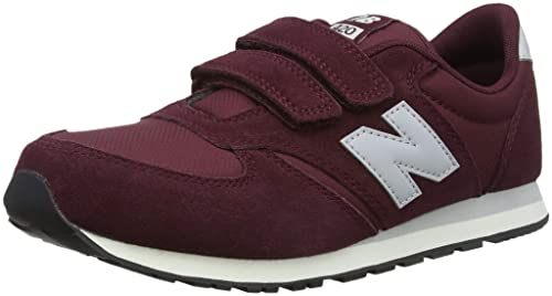 online retailer b6405 deebc New Balance Unisex Kids  420 Trainers, Red (Burgundy Grey Un),