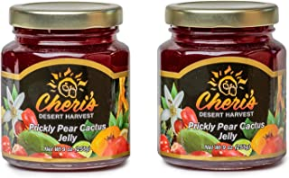product image for Cheris Desert Harvest, Jelly Prickly Pear Cactus, 9 Ounce (2 Jars)