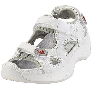 Chung Shi AuBioRiG Comfort Step Sandale 9100095, Damen Outdoor Sandalen, Weiss (weiss), EU 36 (UK 4)