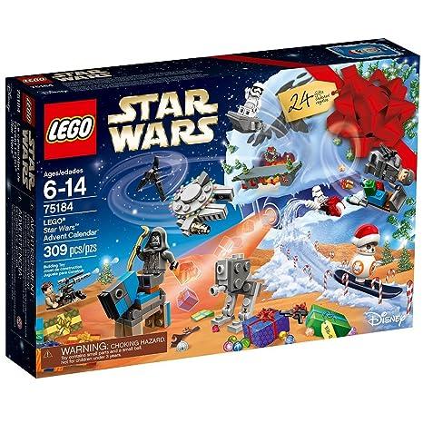 Amazon.com  LEGO Star Wars Star Wars Advent Calendar 75184 Building Kit   Toys   Games c0ee483995