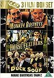 Marx Bros Duck Soup/Monkey Business/Horse Feathers [Edizione: Regno Unito]