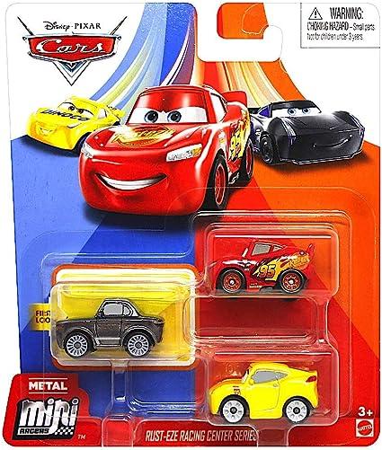 Disney Pixar Cars 3 Diecast Micro Mini Racers Blind Bag x 10