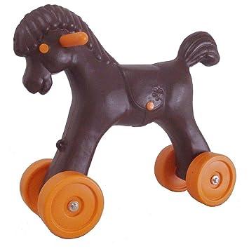 Deslizadores del bebé tacatá con forma de caballo ruedas colour marrón en las dimensiones de 47 x 23 x 32 cm: Amazon.es: Bebé