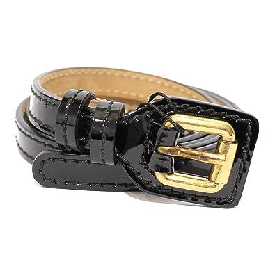Dolce   Gabbana Ceinture - Femme Noir Noir 95 cm  Amazon.fr ... 973ebea17cf