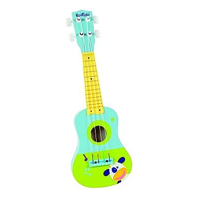 Boikido Jouet en Bois Ma Première Guitare Bleu