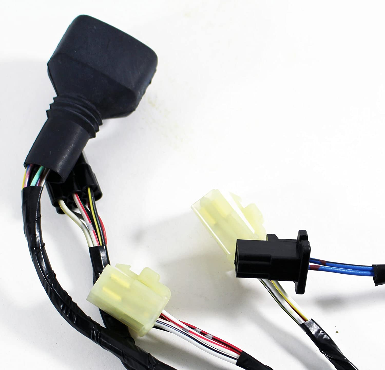 08 Kawasaki Ninja Zzr 600 Used Wiring Harness Wire Plug For 636 26030 1827 Automotive