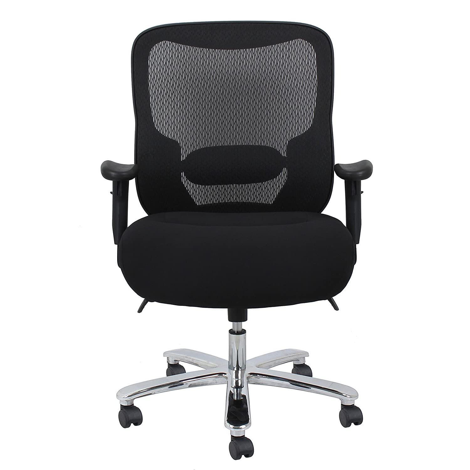 Amazon Essentials Big and Tall Executive Chair Fabric and