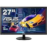 ASUS ゲーミングモニター 27型FPS向き/1ms/TN/HDMI×2/D-sub/スピーカー内蔵/ブルーライト軽減/VESA/3年保証 VP278H