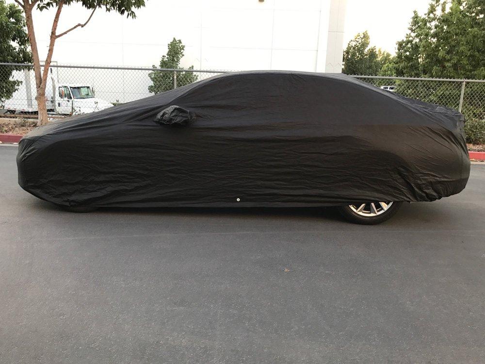 Xtrashield Custom Fit 2014-2019 Infiniti Q50 Car Cover Black Covers CarsCover
