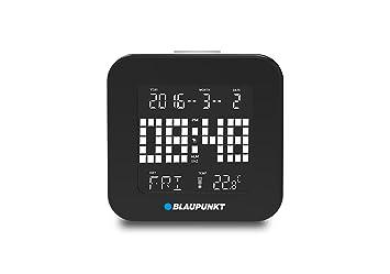 Blaupunkt Cl 20 BK - Reloj Despertador multifunción (con ...