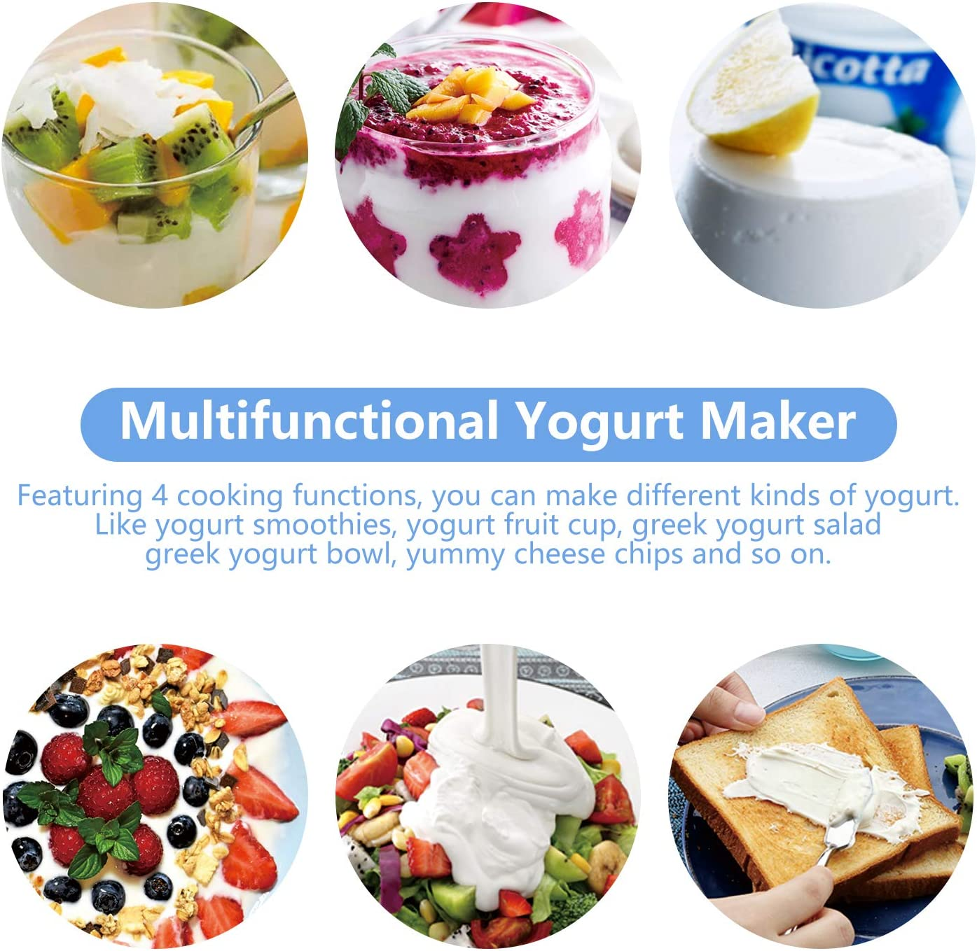 How does a yogurt maker work? Best automatic yogurt maker functions