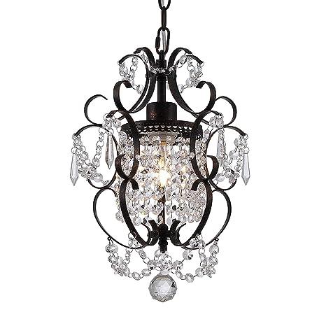 Amazon.com: Luces de techo de vidrio lámpara de araña ...