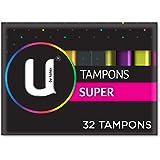U BY KOTEX Tampons, Super (Pack of 32)