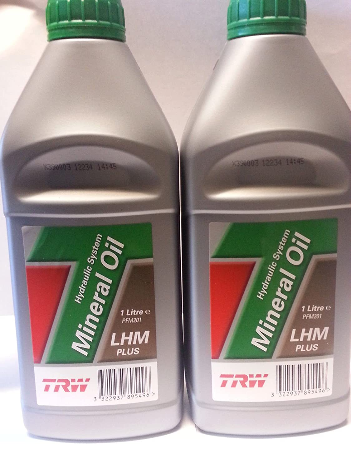 (Pack of 2) TRW Hydraulic System Mineral Oil LHM PLUS OEM