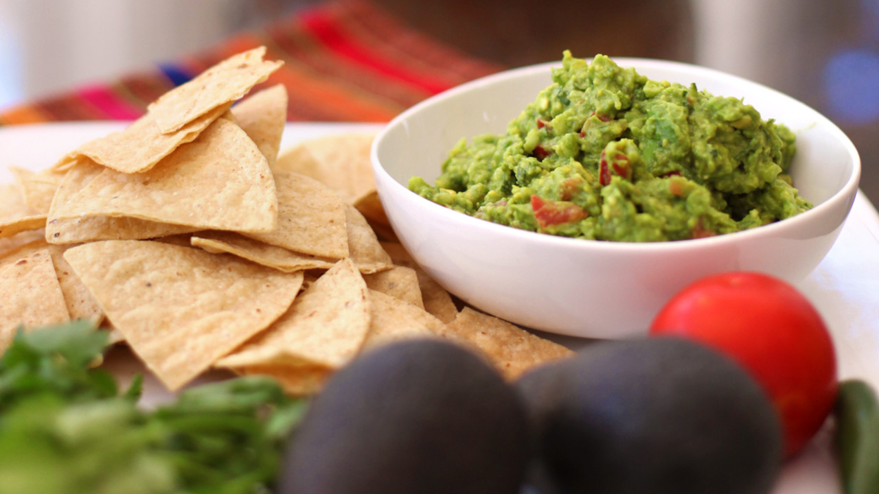 Healthy Homemade Guacamole
