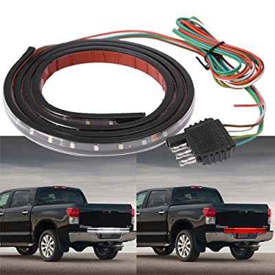Hoypeyfiy 49'' Truck LED Strip Tail Light Tailgate Brake Reverse Signal Lamp Bar for PICKUP TRUCKS: Automotive